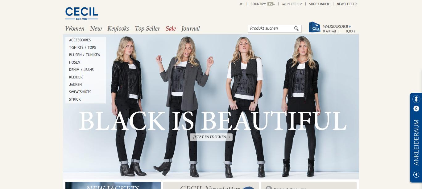 Damenmode und Accessoires im CECIL Online-Shop kaufen - 2013-10-16_18.03.13
